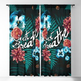 Just Breathe Blackout Curtain