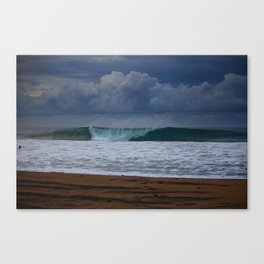 Cloudly Morning Canvas Print