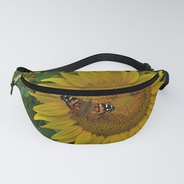 A Thirsty Butterfly Fanny Pack