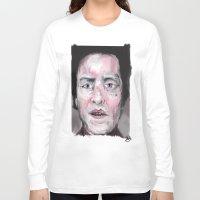 christopher walken Long Sleeve T-shirts featuring Christopher Walken by Be Sound Art