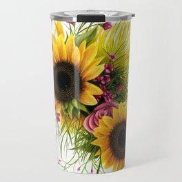 Floral 3 Travel Mug