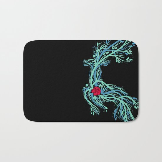 Spirit Vines Bath Mat