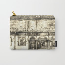 Greyfriars Bobby Pub Edinburgh Vintage Carry-All Pouch