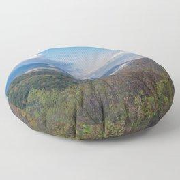 Blue Ridge Peaks Floor Pillow