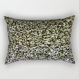 Analog TV Static Pattern Rectangular Pillow