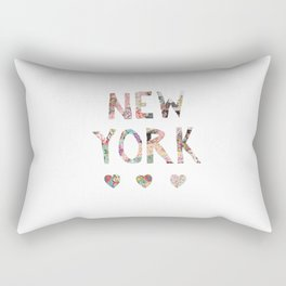 New York love Rectangular Pillow