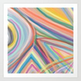 Inside the Rainbow 11 Art Print