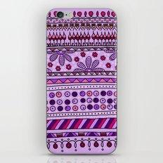 Yzor pattern 001 pink iPhone & iPod Skin