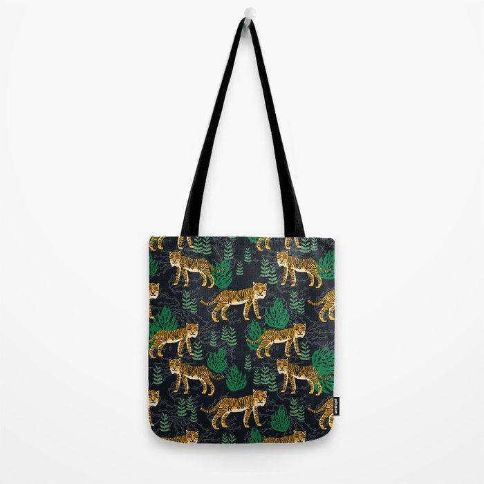 Safari Tiger by Andrea Lauren Tote Bag