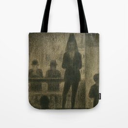 "Trombonist (Study for ""Circus Side Show"") Tote Bag"