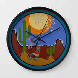 Kokopelli #2 Wall Clock