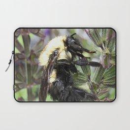 Rain Soaked Bee Laptop Sleeve