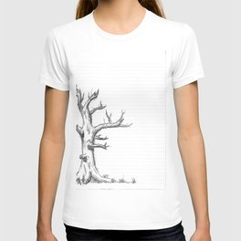Lined Tree T-shirt