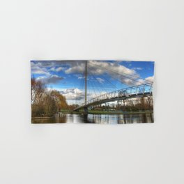 Christchurch Footbridge Reading Hand & Bath Towel