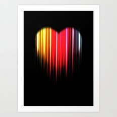 Sookie Heart Art Print