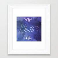 faith Framed Art Prints featuring Faith by Camille