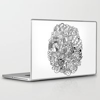 doodle Laptop & iPad Skins featuring Doodle  by simovibart