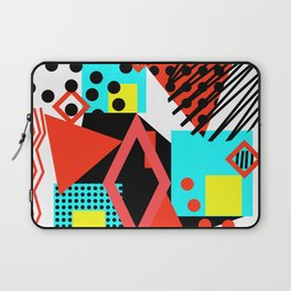 abstract multicolor shapes Laptop Sleeve