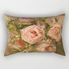Roses. Rectangular Pillow