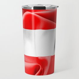 Austria Flag Travel Mug