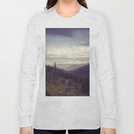 Above The Mountains Long Sleeve T-shirt