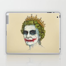 God Save the Villain! Laptop & iPad Skin