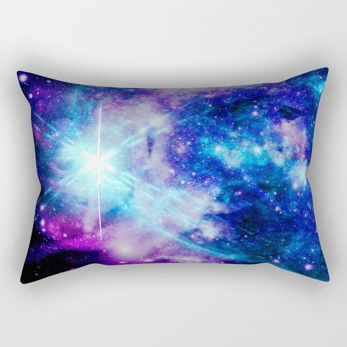 galaxy Nebula Star Rectangular Pillow