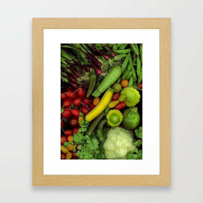 Spring Mix Framed Art Print