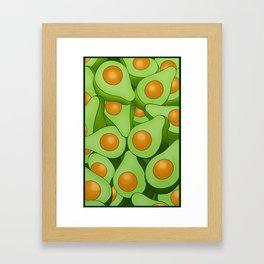 Sweet millennial butter Framed Art Print