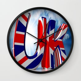UK - United Kingdom Wall Clock