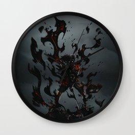 Asta Demon - Black Clover Wall Clock