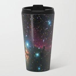 Flame and Horsehead Nebulae Travel Mug