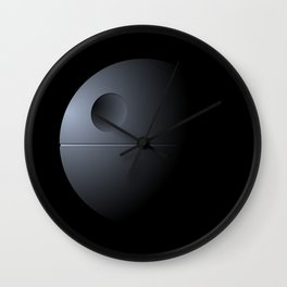 Death Star Wall Clock
