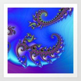 spiral growth -2- Art Print