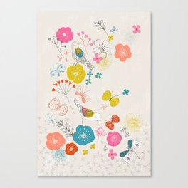 Lovely Garden Canvas Print