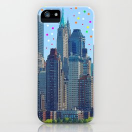 New York Meteor Shower iPhone Case