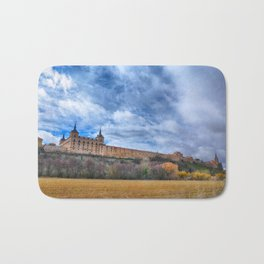 Ducal palace at Lerma, Castile and Leon. Spain. Bath Mat