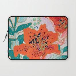 Orange Lily Laptop Sleeve