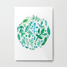 Garden Bag Metal Print