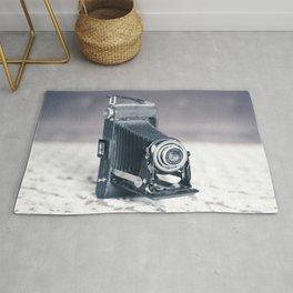 Vintage Camera Kodak Rug