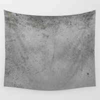 concrete Wall Tapestries featuring Concrete by Coconuts & Shrimps
