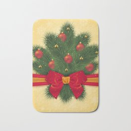 Christmas decoration Bath Mat
