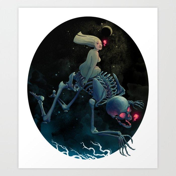 Midnight Traveler Kunstdrucke