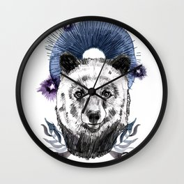 The Bear (Spirit Animal) Wall Clock