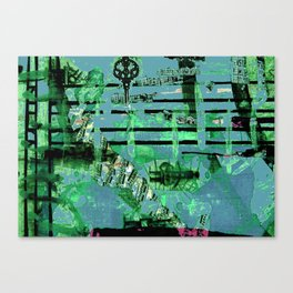 Green Dervish Canvas Print