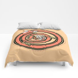 Celtic Fox Letter O Comforters