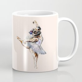 Pug Ballerina in Dog Ballet | Swan Lake  Coffee Mug