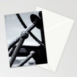 Steering Column of Direction Stationery Cards