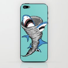 Shark Tornado iPhone & iPod Skin