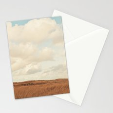 Clouds over the Field Stationery Cards